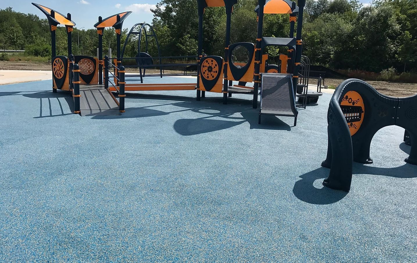 Rubber Paved Playgrounds