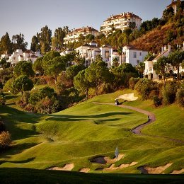 golf on the region of malaga