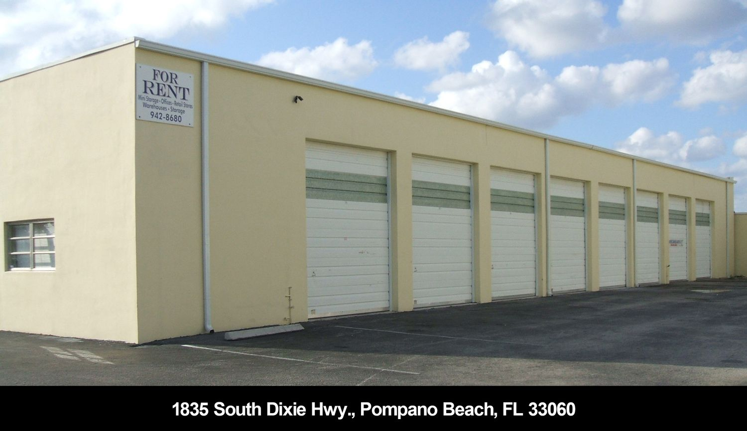 Warehouse for Rent in Pompano Beach