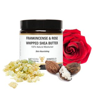 Frankincense & Rose Whipped Shea Butter