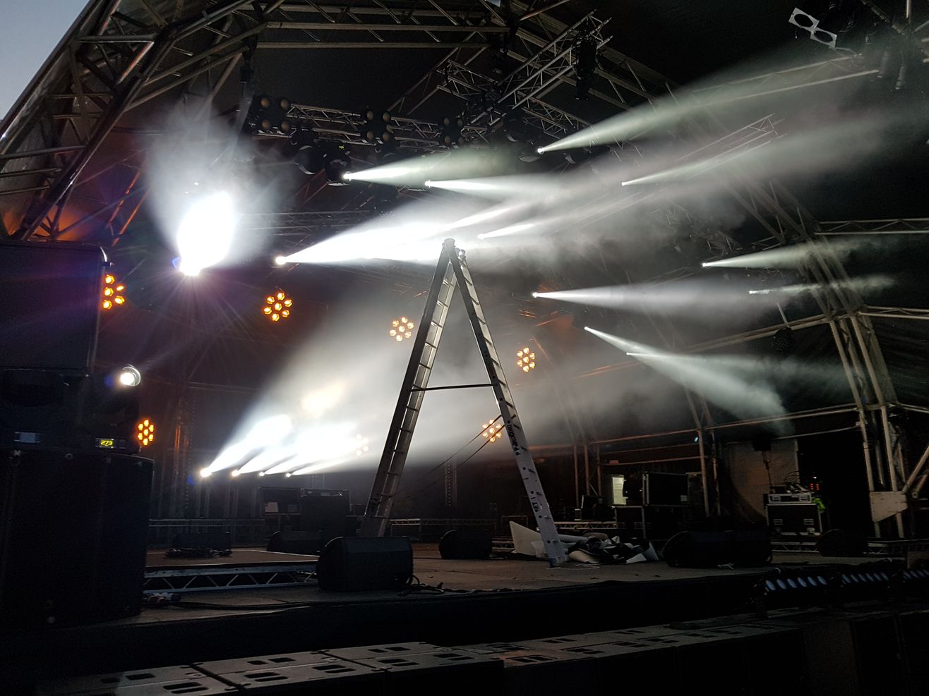 Specialist stage hire - Trust Events