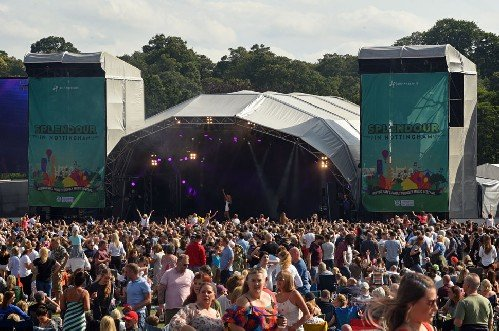 Music festival - Trust Events Stages