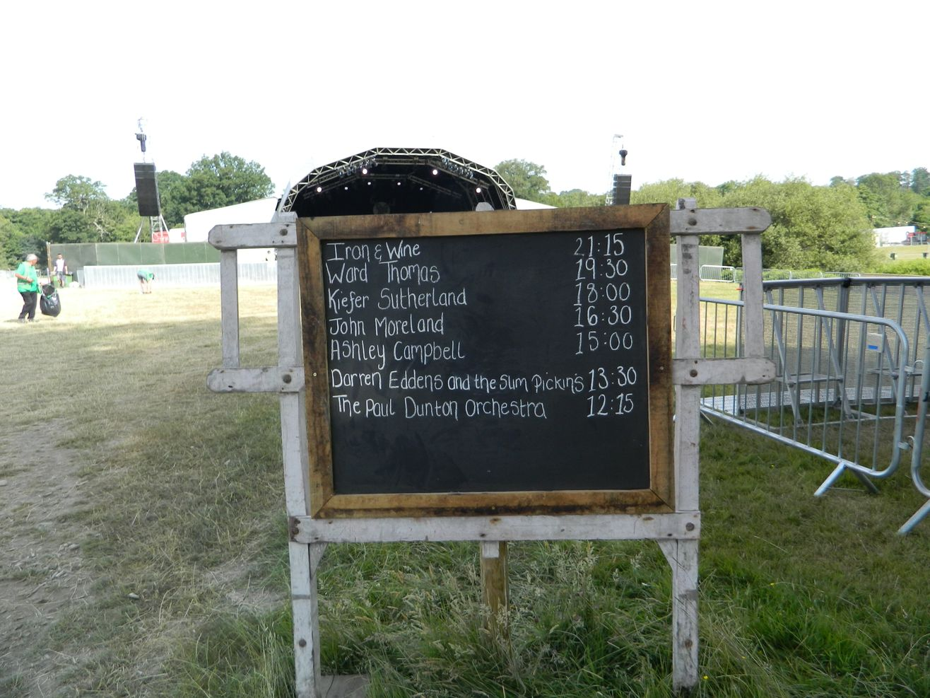 Trust Events Stages - time board