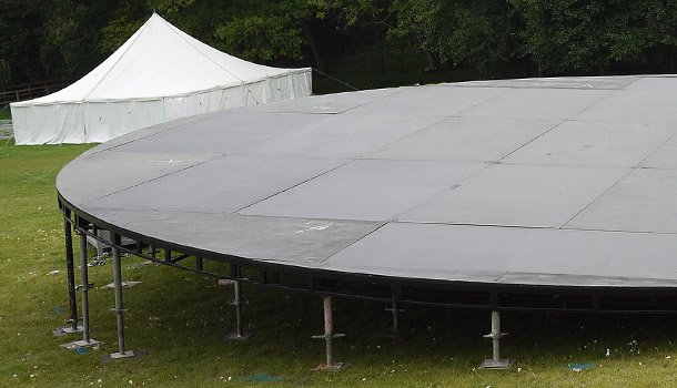 Standard and Custom Steel Decking - Trust Events