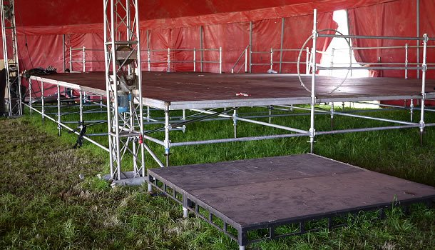 Cup-lock Scaffolding Stage Deck System - Trust Events