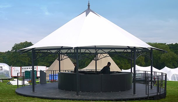 Bandstand Stage