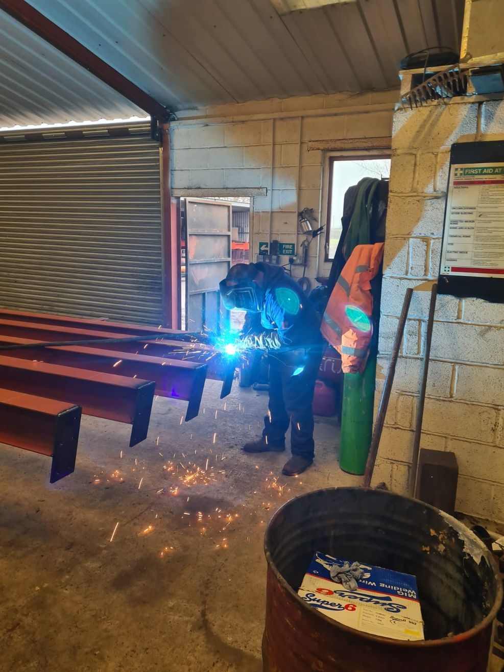 Steel Fabrication - Trust Events